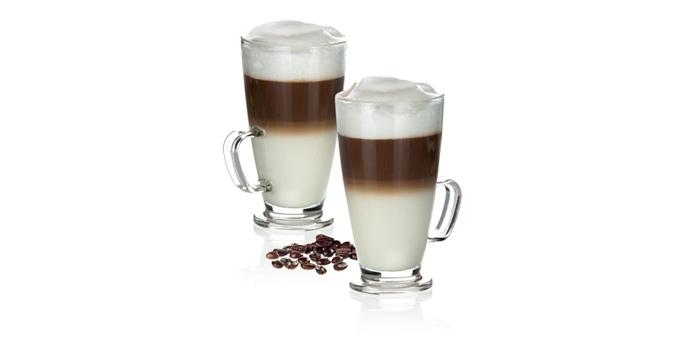 glass mug latte macchiato crema 300 ml. Black Bedroom Furniture Sets. Home Design Ideas