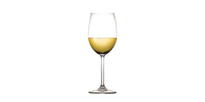 Copo de vinho branco CHARLIE 350 ml