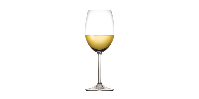 Copo de vinho branco CHARLIE 350 ml, 6 pcs