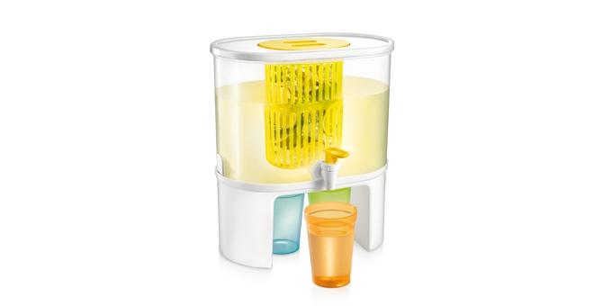Dispensador de bebidas myDRINK, 5.0 l, com infusor