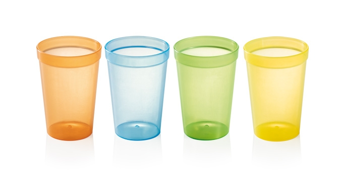 Drinking cups myDRINK 250 ml, 4 pcs