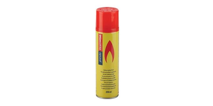 Plyn do kuchynských zapaľovačov PRESTO 250 ml