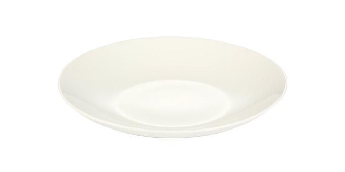 Prato de sobremesa CREMA, 20 cm