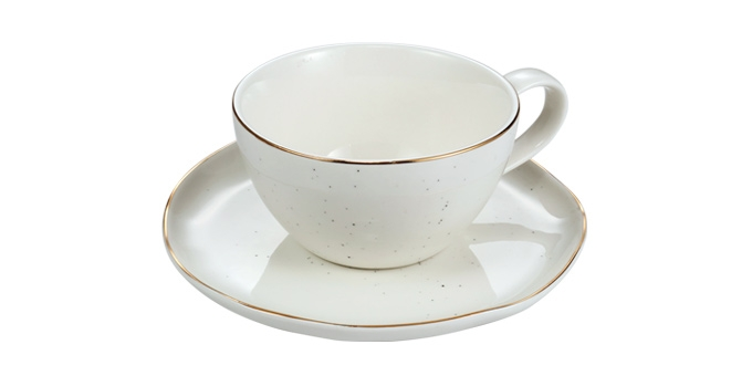 Tazza da tè CHARMANT, con piattino