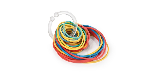 Rubber bands PRESTO, 3 sizes