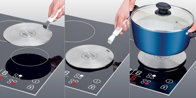 Disco adattatore per piano cottura ad induzione presto 21 cm - Pentole ad induzione ikea ...