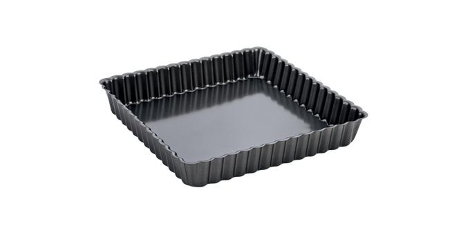 Forma de tarte ondulada desmontável DELÍCIA, 24x24 cm