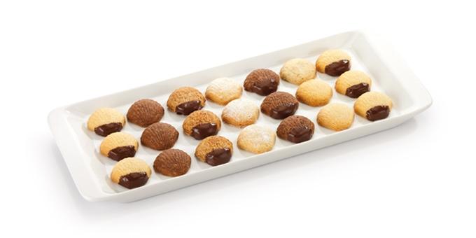 Stampini per cioccolatini a forma di conchiglia