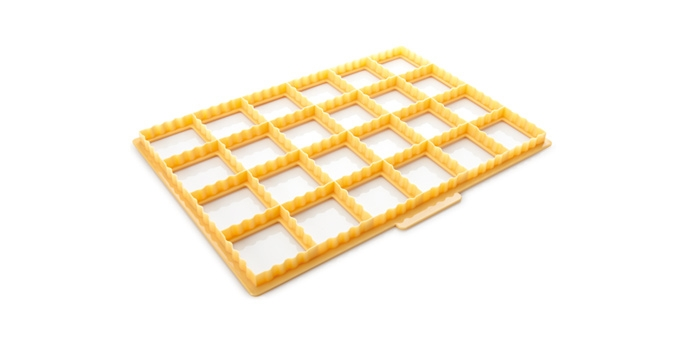 Cookie cutting sheet for biscuit pockets DELÍCIA