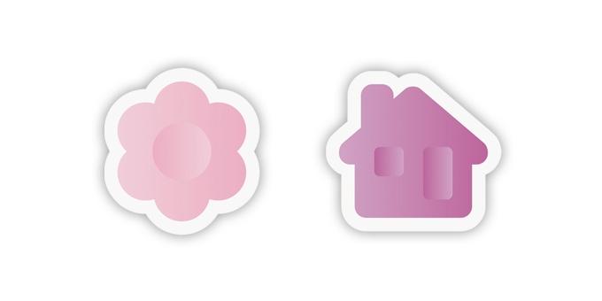 Corta massas multiusos DELÍCIA KIDS, flor e casa
