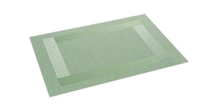 Mantel individual FLAIR FRAME 45x32 cm, verde