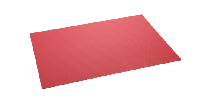 Place mat PURITY FLAIR 45x32 cm, raspberry