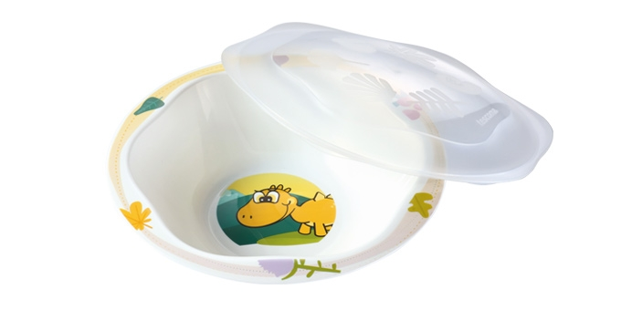 Large dish with lid DINO