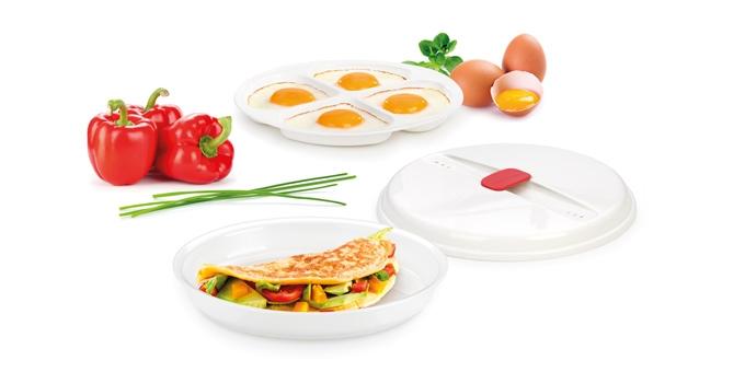 Recipiente p/ omeletes e ovos PURITY MicroWave