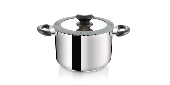 Deep pot SmartCOVER with cover ø20 cm, 4.0 l