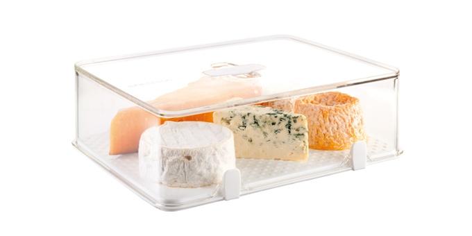 Caixa saudável para frigorífico PURITY 28x22 cm, alta