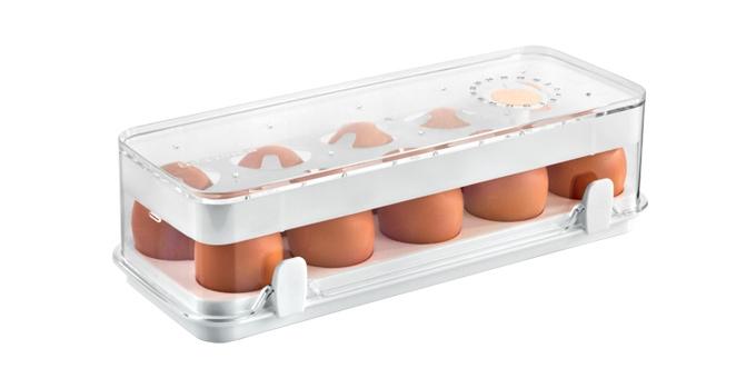 Caixa saudável para frigorífico PURITY, 10 ovos