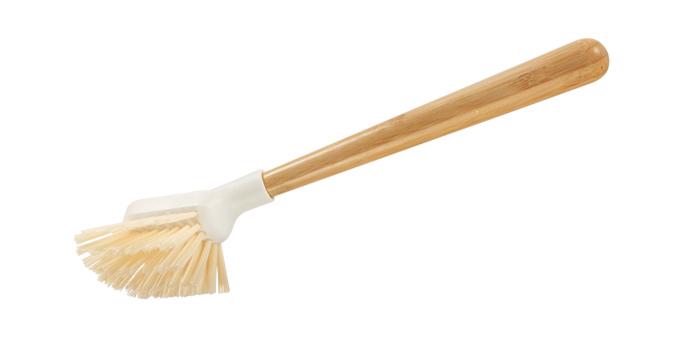 Semi-circular brush CLEAN KIT Bamboo