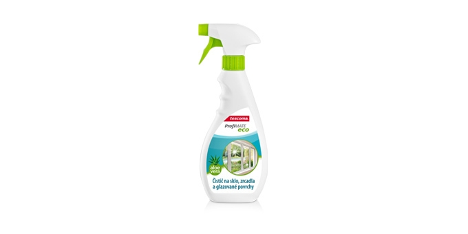 Cleaner for glass, mirrors and glazed surfaces ProfiMATE 500 ml, Aloe vera