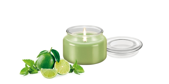 Candela profumata FANCY HOME 200 g, Mojito