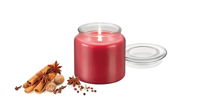 Vela perfumada FANCY HOME 410 g, Especiarias exóticas