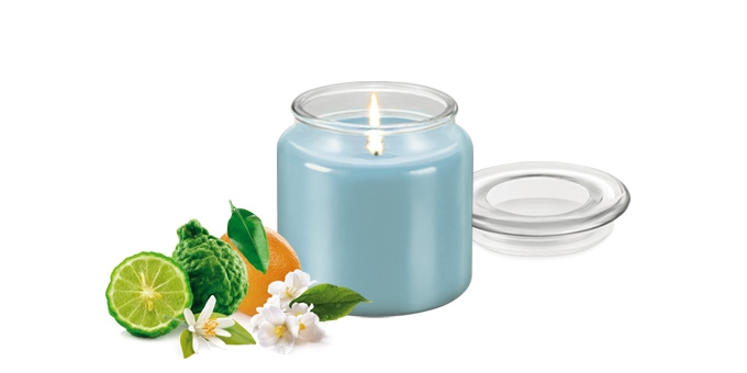 Scented candle FANCY HOME 410 g, Neroli