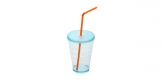 Cup with lid myDRINK 400 ml