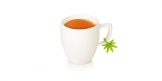 Cup tags myDRINK, 6 pcs, leaves