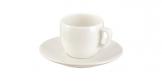 Šálek na espresso CREMA, s podšálkem