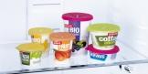 Viečka na jogurty PRESTO ø 8 cm, 2 ks