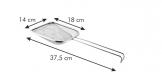 Pá coadora GrandCHEF 14x18 cm