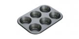 Forma 6 muffinov DELÍCIA 26x18 cm