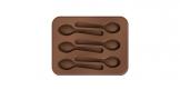 Formičky na čokoládu DELÍCIA CHOCO, lyžičky
