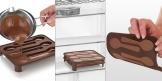 Stampo per cioccolatini DELÍCIA Choco, cucchiaini