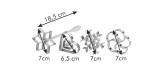 Stampi per frittelle DELÍCIA, 4 pz