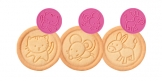 Timbro per biscotti DELÍCIA, 6 animaletti