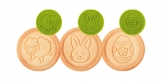 Cookie stamp DELÍCIA, 6 Easter motifs