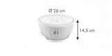 Ciotola per lievitazione con gel riscaldante DELÍCIA ø 26 cm