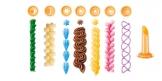 Siringa decora dolci DELÍCIA, 8 beccucci e contenitore