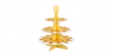 Etažérka 3-patrová DELÍCIA, vánoční motivy