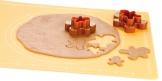 Dwustronne foremki do wykrawania figurki  DELÍCIA, 4 rozmiary