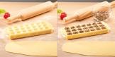 Stampo per raviolini quadrati DELÍCIA, 21 pz