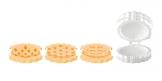 Forma crostatine DELÍCIA, 3 decori