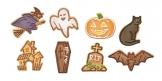 Corta massas de Halloween DELÍCIA, 8 pcs