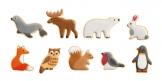 Cortapastas animales DELÍCIA KIDS, 9 pzs