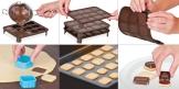 Forma p/ chocolates DELÍCIA KIDS, carrinhos