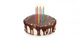 Velas de aniversário DELÍCIA KIDS 10 cm, 12 pcs