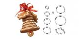 Dzwonek Bożonarodzeniowy DELÍCIA, komplet