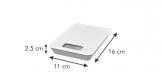 Balança de cozinha digital ACCURA 500 g