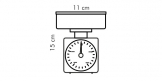 Kuchyňské váhy ACCURA 0.5 kg